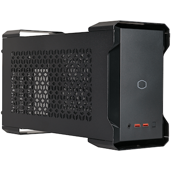Product image of Cooler Master MasterCase NC100 NUC 9 Case w/650W PSU - Black - Click for product page of Cooler Master MasterCase NC100 NUC 9 Case w/650W PSU - Black