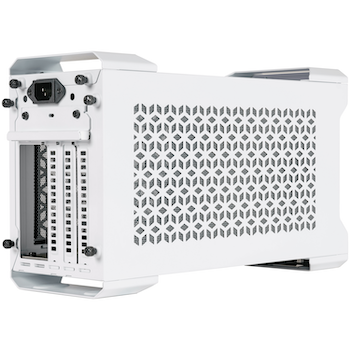Product image of Cooler Master MasterCase NC100 NUC 9 Case w/650W PSU - White - Click for product page of Cooler Master MasterCase NC100 NUC 9 Case w/650W PSU - White