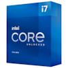 A product image of Intel Core i7 11700K Rocket Lake 8 Core 16 Thread Up To 5.0Ghz LGA1200 - No HSF Retail Box