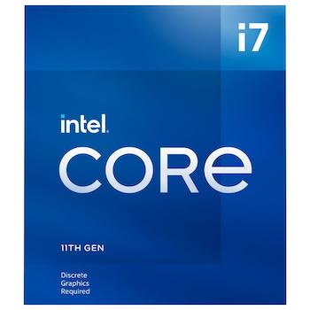 Product image of Intel Core i7 11700F Rocket Lake 8 Core 16 Thread Up To 4.9Ghz LGA1200 - No iGPU Retail Box - Click for product page of Intel Core i7 11700F Rocket Lake 8 Core 16 Thread Up To 4.9Ghz LGA1200 - No iGPU Retail Box