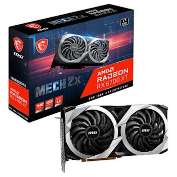 Product image of MSI Radeon RX 6700 XT MECH 2X 12GB GDDR6 - Click for product page of MSI Radeon RX 6700 XT MECH 2X 12GB GDDR6
