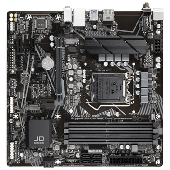 Product image of Gigabyte B560M DS3H AC LGA1200 mATX Desktop Motherboard - Click for product page of Gigabyte B560M DS3H AC LGA1200 mATX Desktop Motherboard