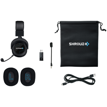 Product image of Logitech Shroud Edition Pro X Wireless Gaming Headset - Click for product page of Logitech Shroud Edition Pro X Wireless Gaming Headset