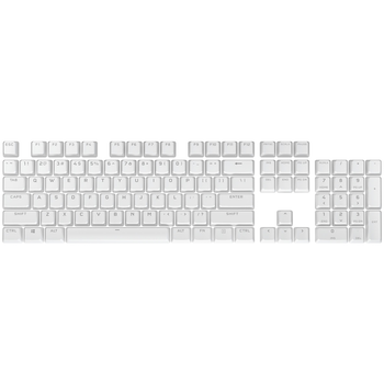 Product image of Corsair PBT Double-Shot Pro Keycaps - Arctic White - Click for product page of Corsair PBT Double-Shot Pro Keycaps - Arctic White