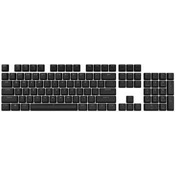 Product image of Corsair PBT Double-Shot Pro Keycaps - Onyx Black - Click for product page of Corsair PBT Double-Shot Pro Keycaps - Onyx Black