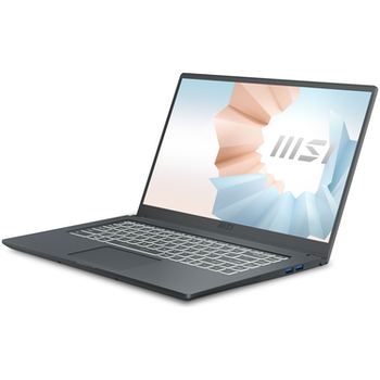 """Product image of MSI Modern 15 A11M 15.6"""" 11th Gen i7 Windows 10 Notebook - Click for product page of MSI Modern 15 A11M 15.6"""" 11th Gen i7 Windows 10 Notebook"""