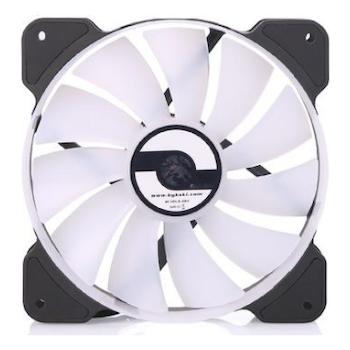 Product image of Bykski 120mm RGB PWM Black/White Cooling Fan - Click for product page of Bykski 120mm RGB PWM Black/White Cooling Fan