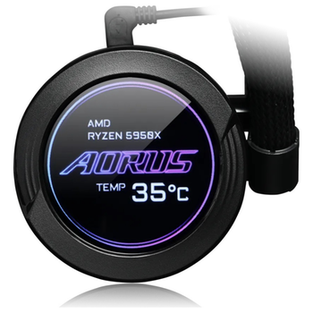 Product image of Gigabyte Aorus Waterforce X 360 RGB AIO Liquid Cooler 360mm - Click for product page of Gigabyte Aorus Waterforce X 360 RGB AIO Liquid Cooler 360mm