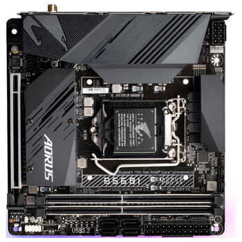 Product image of Gigabyte B560I Aorus Pro AX LGA1200 mITX Desktop Motherboard - Click for product page of Gigabyte B560I Aorus Pro AX LGA1200 mITX Desktop Motherboard