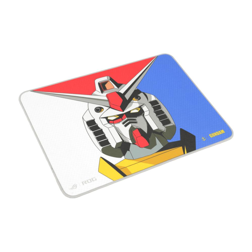 A large main feature product image of ASUS ROG Sheath Gaming Mousemat - Gundam