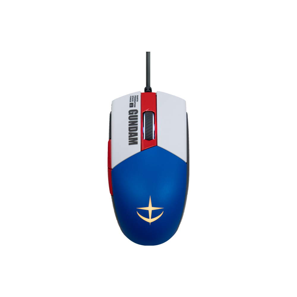 A large main feature product image of ASUS ROG Strix Impact II Ambidextrous Lightweight Gaming Mouse - Gundam