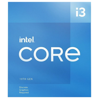 Product image of Intel Core i3 10105F 3.7GHz Comet Lake Refresh 4 Core 8 Thread LGA1200 - No iGPU Retail Box - Click for product page of Intel Core i3 10105F 3.7GHz Comet Lake Refresh 4 Core 8 Thread LGA1200 - No iGPU Retail Box