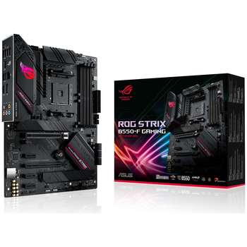 Product image of ASUS ROG Strix B550-F Gaming AM4 ATX Desktop Motherboard - Click for product page of ASUS ROG Strix B550-F Gaming AM4 ATX Desktop Motherboard