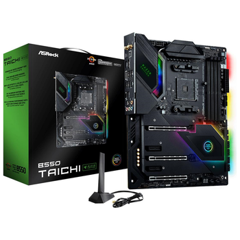 Product image of ASRock B550 Taichi Razer Edition AM4 ATX Desktop Motherboard - Click for product page of ASRock B550 Taichi Razer Edition AM4 ATX Desktop Motherboard