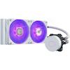 A product image of Cooler Master MasterLiquid ML240L V2 RGB 240mm AIO Liquid CPU Cooler - White Edition