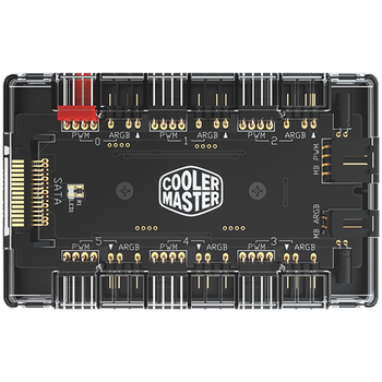 Product image of EX-DEMO Cooler Master Addressable RGB & PWM Hub - Click for product page of EX-DEMO Cooler Master Addressable RGB & PWM Hub