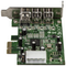 A small tile product image of Startech 3 Port 2b 1a Low Profile 1394 PCI Express FireWire Card