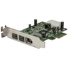 A product image of Startech 3 Port 2b 1a Low Profile 1394 PCI Express FireWire Card