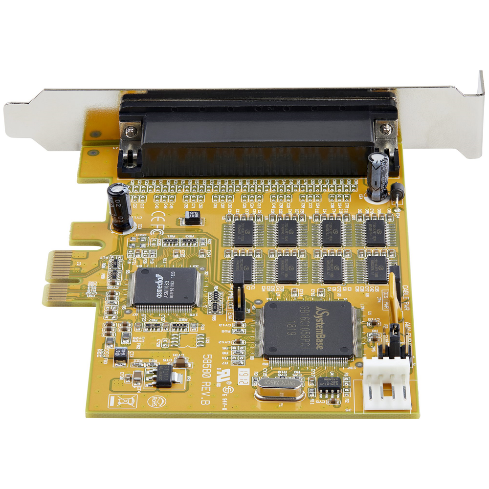 A large main feature product image of Startech 8-Port PCI Express RS232 Serial Adapter Card - PCIe
