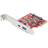A product image of Startech 2-Port 10Gbps USB-C/A PCIe Card USB 3.1 Gen 2 PCI Express