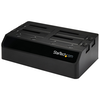 A product image of Startech USB 3.0 4-Bay 2.5/3.5in SATA HDD/SSD Docking Station w/ UASP