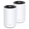 A product image of TP-LINK Deco X68 Wireless-AX3600 WiFi 6 Mesh Router - 2 Pack