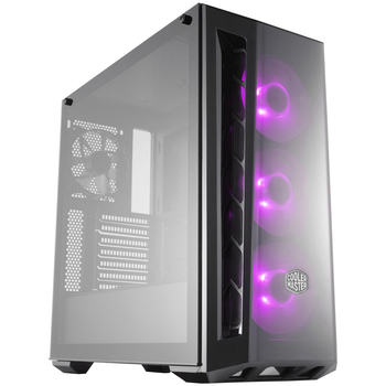 Product image of EX-DEMO Cooler Master MasterBox MB520 RGB Mid Tower Case w/Tempered Glass Windows - Click for product page of EX-DEMO Cooler Master MasterBox MB520 RGB Mid Tower Case w/Tempered Glass Windows