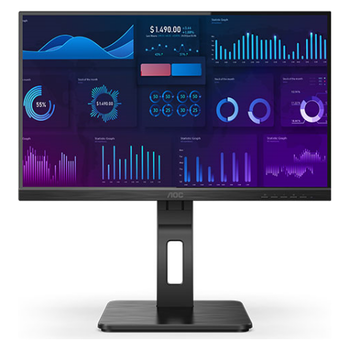 "Product image of AOC 24P2Q 23.8"" FHD Adaptive Sync 75Hz 4MS IPS LED Monitor - Click for product page of AOC 24P2Q 23.8"" FHD Adaptive Sync 75Hz 4MS IPS LED Monitor"