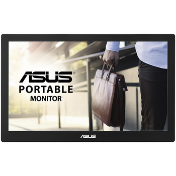 "Product image of ASUS MB169B+ 15.6"" FHD 60Hz 25MS IPS LED Portable USB 3.0 Monitor - Click for product page of ASUS MB169B+ 15.6"" FHD 60Hz 25MS IPS LED Portable USB 3.0 Monitor"