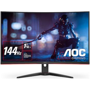 "Product image of AOC CQ32G2E 31.5"" Curved QHD FreeSync Premium 155Hz 1MS VA LED Gaming Monitor - Click for product page of AOC CQ32G2E 31.5"" Curved QHD FreeSync Premium 155Hz 1MS VA LED Gaming Monitor"