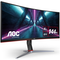 "A small tile product image of AOC CU34G2X 34"" Curved UWQHD Ultrawide Adaptive-Sync 144Hz 1MS VA LED Gaming Monitor"