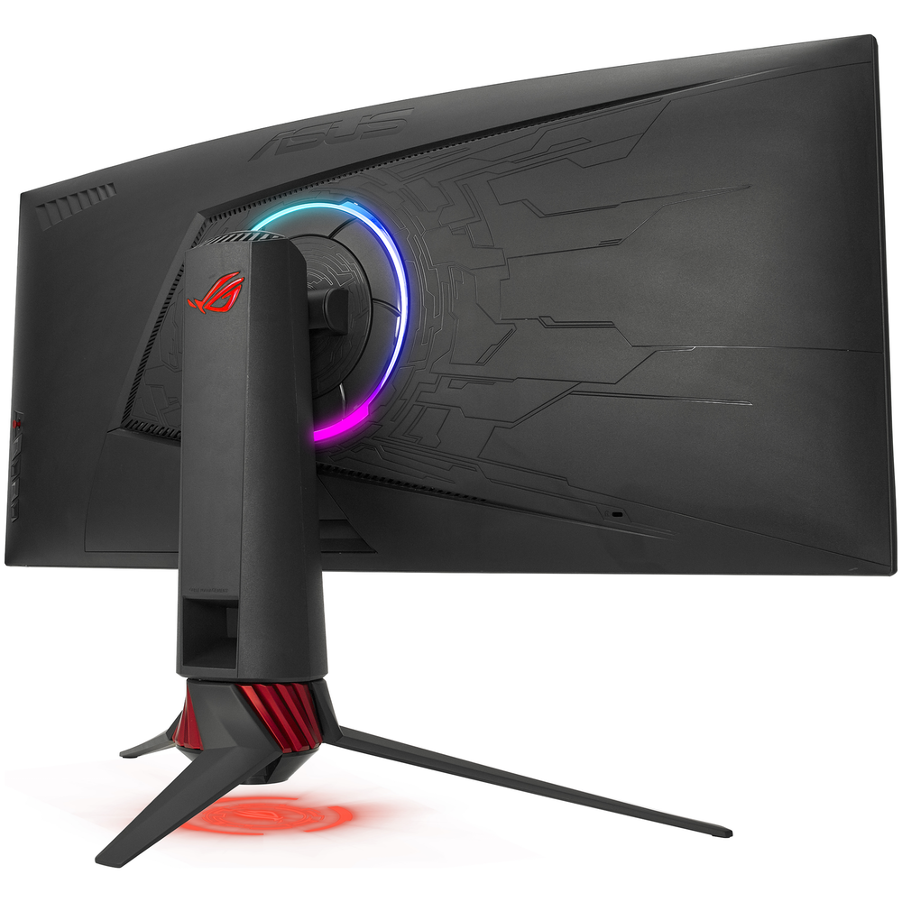 """A large main feature product image of ASUS ROG Strix XG35VQ 35"""" Curved UWQHD Ultrawide FreeSync 100Hz 1MS VA LED Gaming Monitor"""