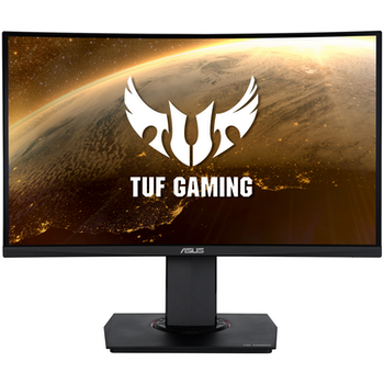 """Product image of ASUS TUF VG24VQ 23.6"""" Curved FHD FreeSync Premium 144Hz 1MS VA LED Gaming Monitor - Click for product page of ASUS TUF VG24VQ 23.6"""" Curved FHD FreeSync Premium 144Hz 1MS VA LED Gaming Monitor"""
