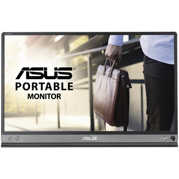 "Product image of ASUS ZenScreen MB16AC 15.6"" FHD 60Hz 5MS IPS LED Portable USB-C Monitor - Click for product page of ASUS ZenScreen MB16AC 15.6"" FHD 60Hz 5MS IPS LED Portable USB-C Monitor"