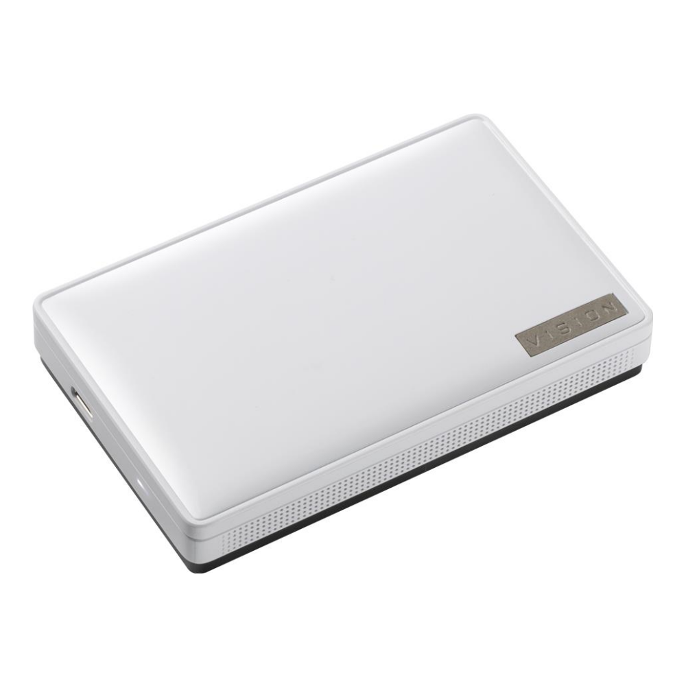 A large main feature product image of Gigabyte Vision Drive 1TB USB3.2 Gen2x2 Portable SSD