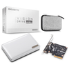 A product image of Gigabyte Vision Drive 1TB Upgrade Kit USB3.2 Gen2x2 Portable SSD