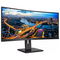 """A small tile product image of Philips 346B1C/75 34"""" Curved UWQHD Ultrawide Adaptive-Sync 100Hz 4MS VA LED Monitor"""