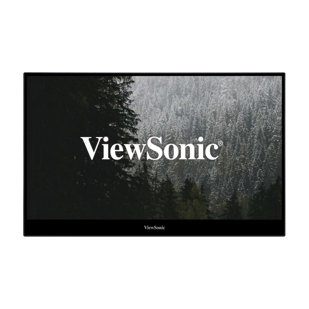 """A large main feature product image of ViewSonic TD1655 16"""" FHD 60Hz 6.5MS IPS LED Portable USB-C Touch Screen Monitor"""