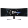"""A product image of Samsung CRG9 49"""" Curved DQHD Super Ultrawide FreeSync 2 120Hz 4MS HDR1000 VA QLED Gaming Monitor"""