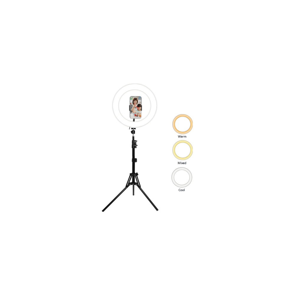 A large main feature product image of Sansai LED Ring Light