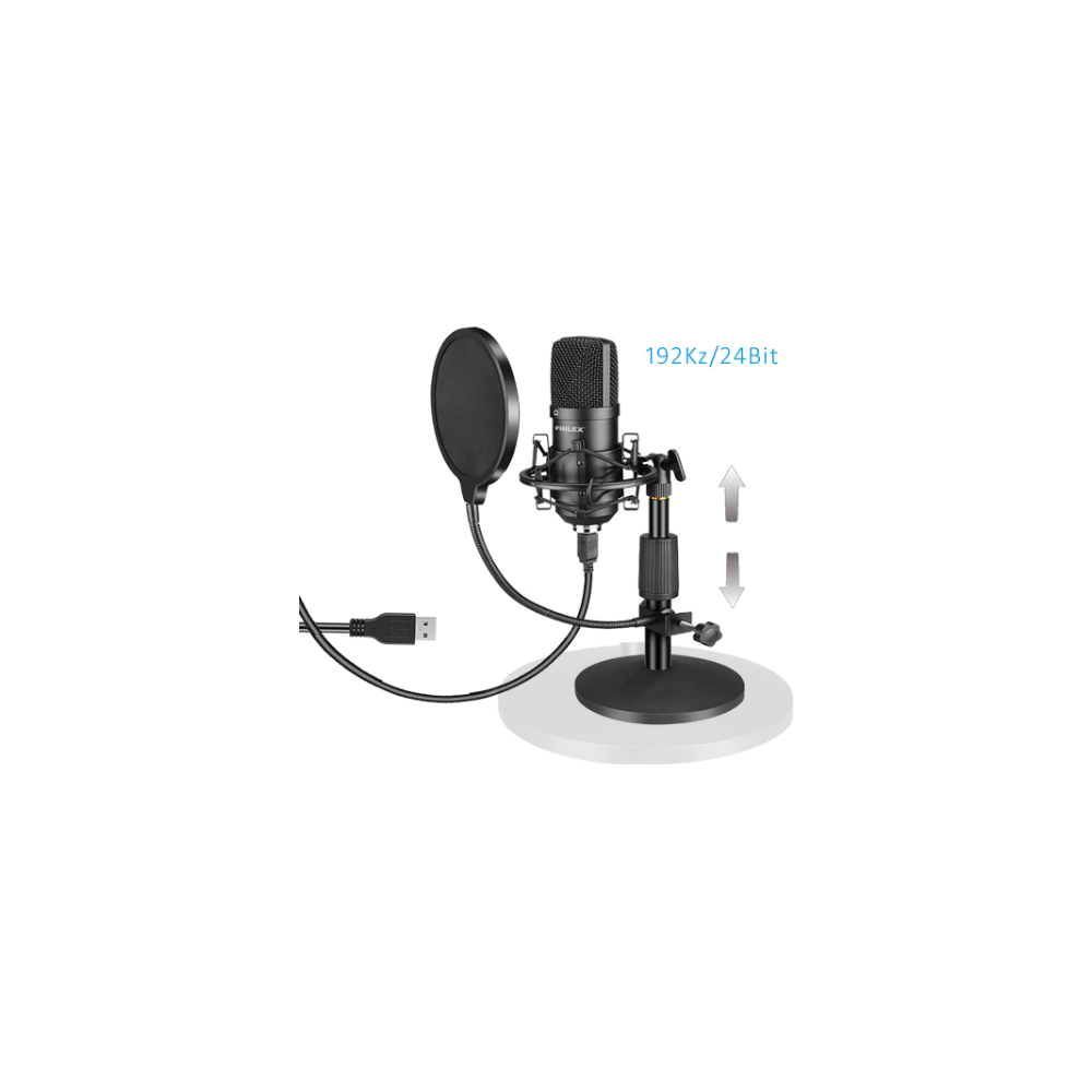 A large main feature product image of Philex USB Condenser Microphone