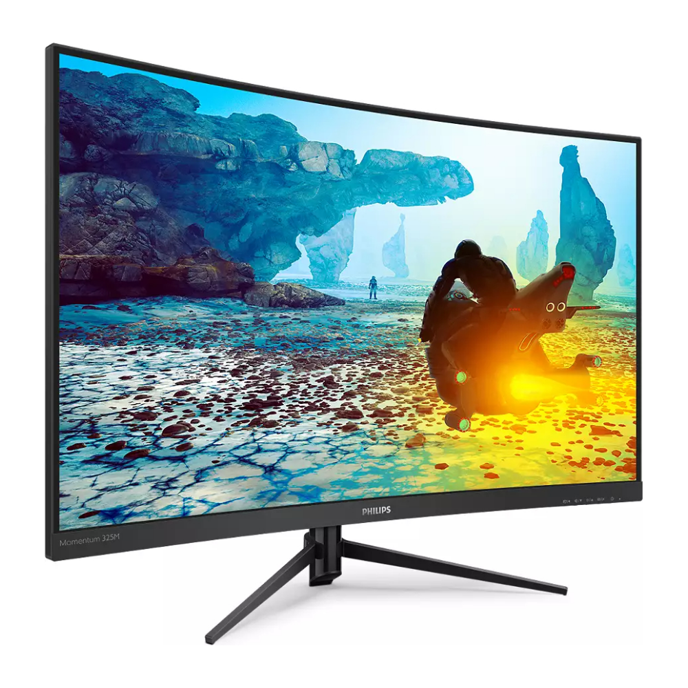 "A large main feature product image of Philips 325M8C/75 31.5"" Curved QHD FreeSync Premium 144Hz 1MS VA LED Gaming Monitor"