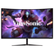 """A small tile product image of ViewSonic VX3218-PC-MHD 32"""" Curved FHD Adaptive-Sync 165Hz 1MS VA LED Gaming Monitor"""