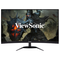 """A small tile product image of ViewSonic VX3268-2KPC-MHD 32"""" Curved QHD Freesync Premium 144Hz 1MS VA LED Gaming Monitor"""