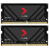 A product image of PNY 32GB (2x16GB) XLR8 Gaming DDR4 3200MHz Notebook Memory
