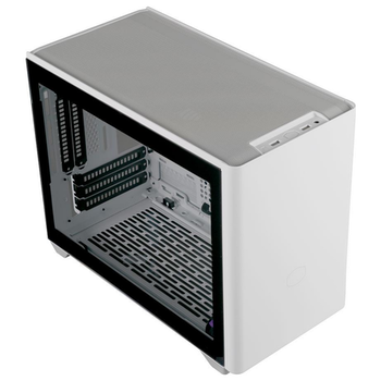 Product image of Cooler Master NR200P White mITX Case w/Tempered Glass Side Panel - Click for product page of Cooler Master NR200P White mITX Case w/Tempered Glass Side Panel