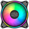 A product image of Cooler Master MasterFan MF140 Halo Dual Loop ARGB 140mm Cooling Fan