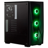 A product image of Corsair Carbide SPEC-DELTA Black RGB Mid Tower Case w/Tempered Glass Side Panel