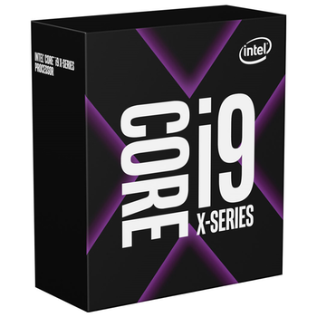 Product image of Intel Core i9 10900X Cascade Lake 10 Core 20 Thread Up To 4.5Ghz LGA2066 - No HSF Retail Box - Click for product page of Intel Core i9 10900X Cascade Lake 10 Core 20 Thread Up To 4.5Ghz LGA2066 - No HSF Retail Box