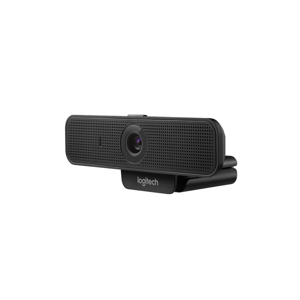 A large main feature product image of Logitech C925e Full HD Webcam